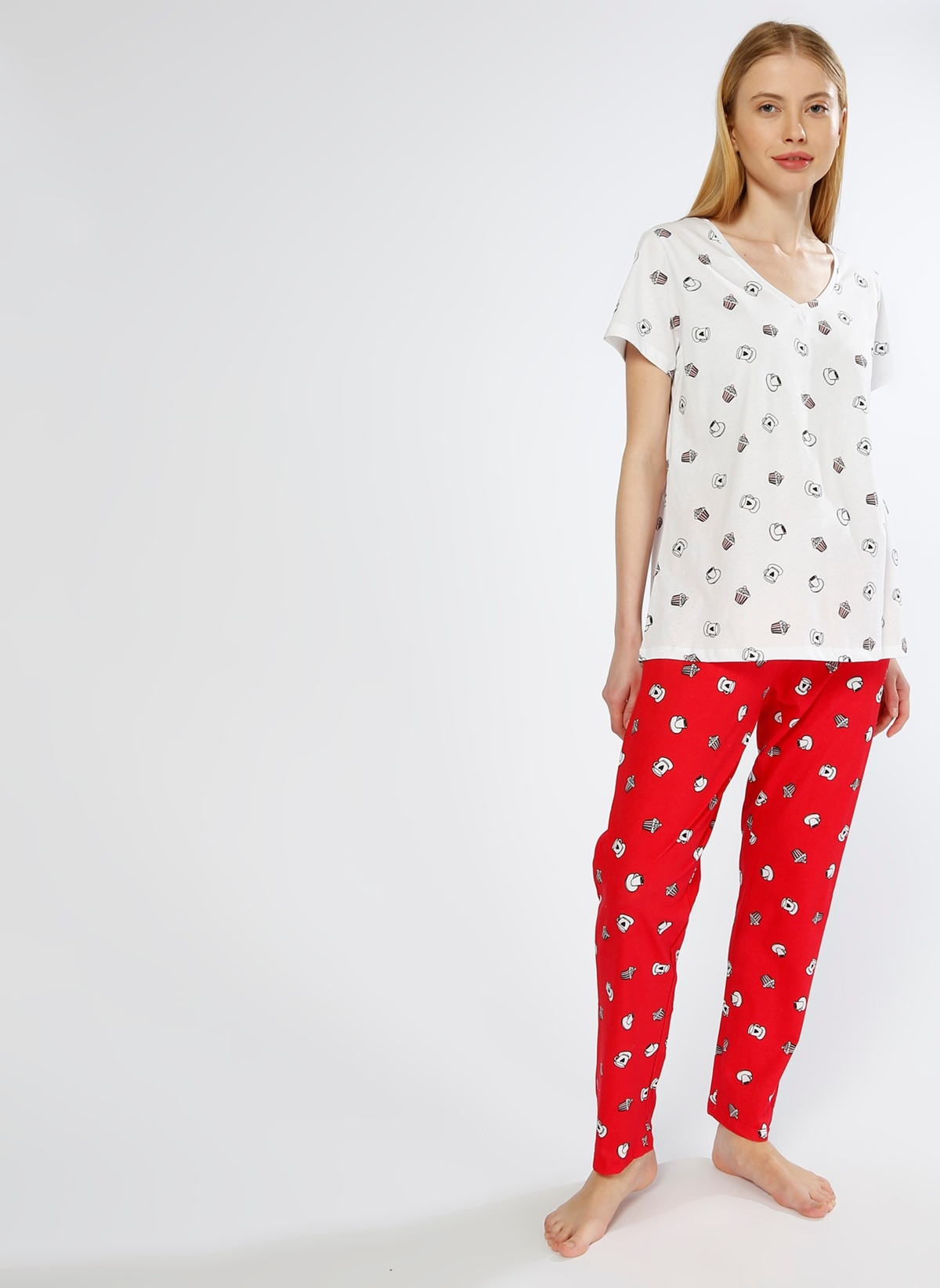 T-Box Pijama Takım